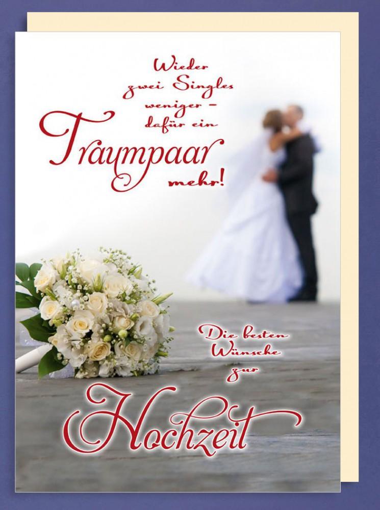 Riesen-Hochzeit Karte Traumpaar A4 505600