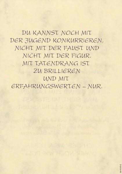 Grußkarte Urkunde Zum 75. Geburtstag herzliche Glückwünsche A5 ...