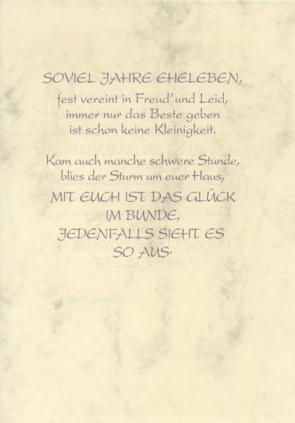 Silberhochzeit Grußkarte Urkunde 25 Zur Silberhochzeit herzliche Glückwünsche A5 505870
